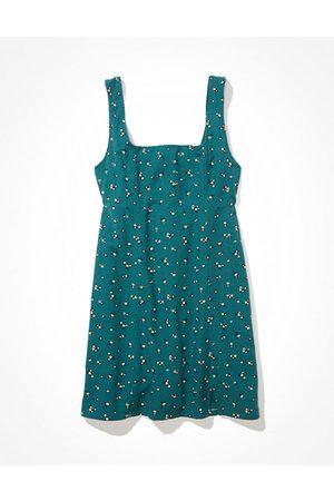 American Eagle Outfitters Square-Neck Mini Dress Women's XS Petite
