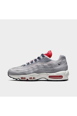 Nike Men's Air Max 95 Casual Shoes in Grey/Cement Grey Size 7.5 Nylon