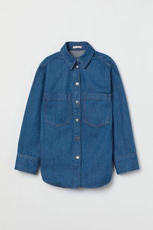 H&M Women Denim - Denim Shirt