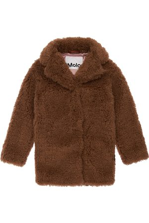 MOLO Girls Coats - Faux Fur Coat