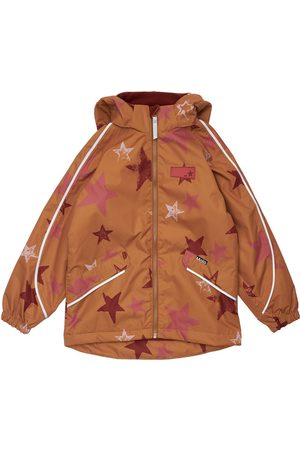 MOLO Stars Print Nylon Parka Jacket