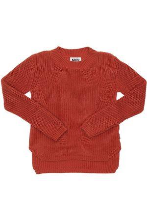 Molo Organic Cotton Knit Sweater