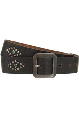 HTC Men Belts - 3.5cm Gibson Leather Belt