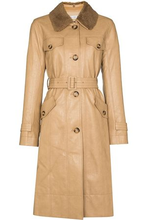 REJINA PYO Hana detachable-collar trench coat