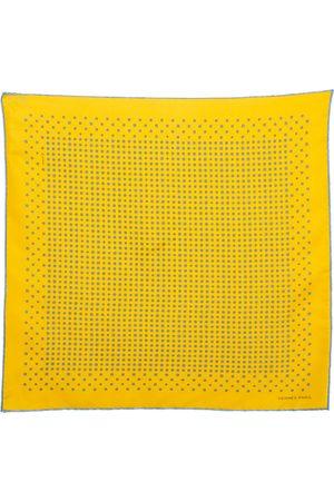 Hermès Hermès Printed Silk Pocket Square