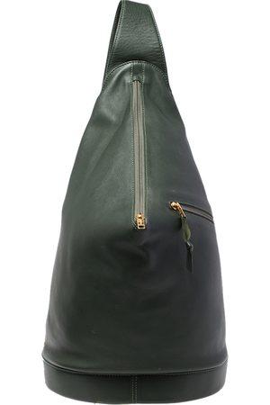 Loewe Leather Zip Sling Backpack