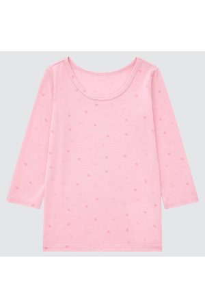 UNIQLO Toddler HEATTECH Scoop Neck Long-Sleeve T-Shirt, , Ages 12-18M