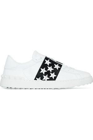 VALENTINO GARAVANI Men Sneakers - VALENTINO WHT BLK STAR SNKR
