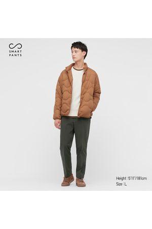 UNIQLO Men Stretch Pants - Men's Smart 2-Way Stretch Cotton Ankle-Length Pants, , XS