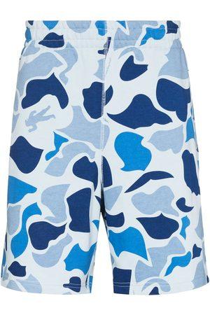 Billionaire Boys Club Men Bermudas - Camo elasticated waistband shorts