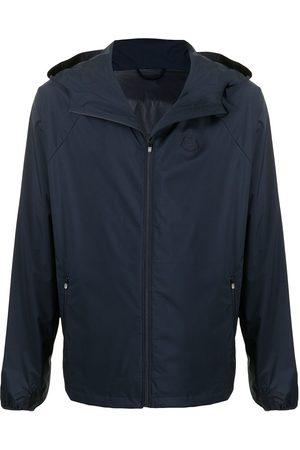 Kenzo Men Sports Jackets - Tiger-print hooded jacket