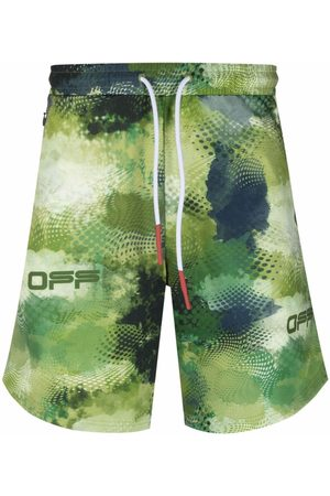 OFF-WHITE Men Sports Shorts - Active knitted shorts