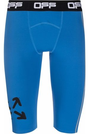 Off-White Arrow-print compression shorts