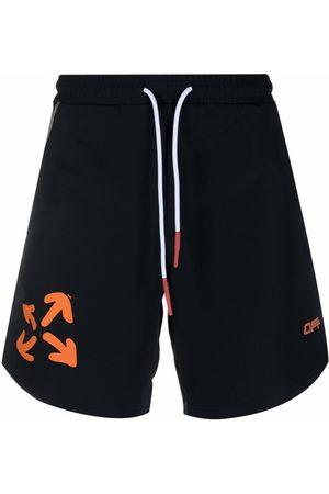 Off-White Arrow-print running shorts
