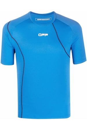 OFF-WHITE Men Sports Tops - Active short sleeve compression T-shirt