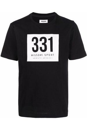 Missoni Men Short Sleeve - Graphic-print short-sleeve T-shirt