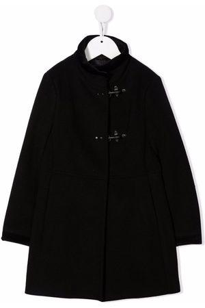 FAY KIDS Girls Duffle Coat - High neck duffle coat