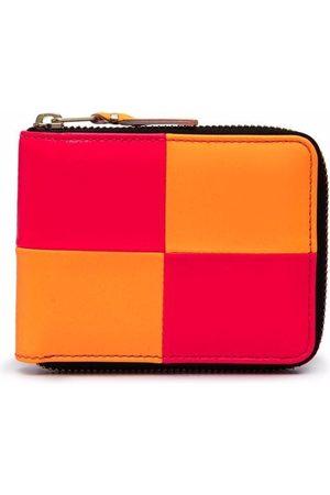 Comme des Garçons Wallets - Bold-check zip-around wallet
