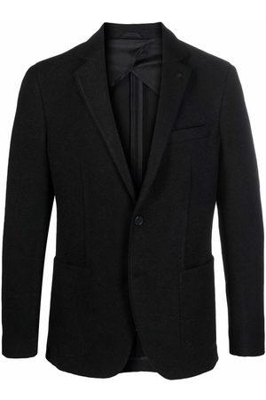 Karl Lagerfeld Single-breasted pocket blazer