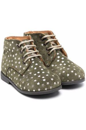 TWO CON ME BY PÈPÈ Rain Boots - Star-print suede boots