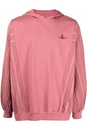 Vivienne Westwood Men Hoodies - Embroidered-logo hoodie