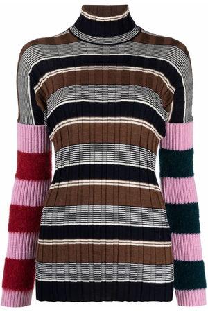 Colville Roll-neck striped jumper