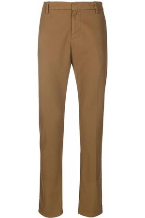 DONDUP Men Chinos - Cropped tapered chino trousers