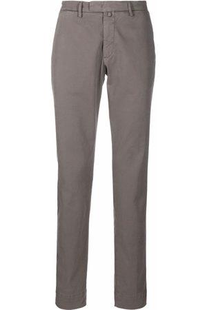 BRIGLIA Men Chinos - Straight-leg chino trousers - Grey