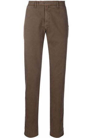 BRIGLIA Straight-leg chino trousers