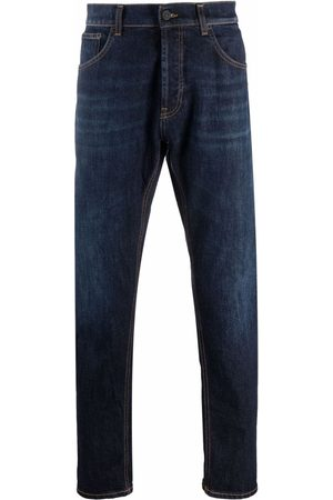 Dondup Men Tapered - Mid-rise tapered-leg jeans