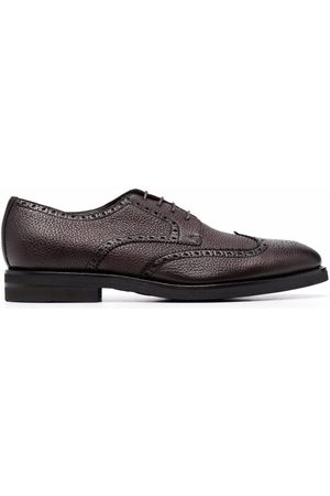 HENDERSON BARACCO Men Brogues - Grained leather brogues