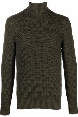 Circolo Men Turtlenecks - Roll-neck wool jumper