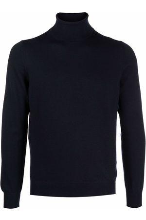 TAGLIATORE Men Turtlenecks - Roll neck wool sweater