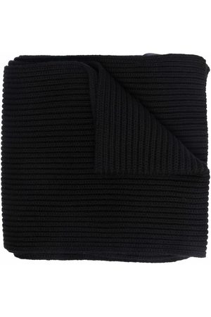 Dsquared2 Boys Scarves - Ribbed-knit embroidered-logo scarf
