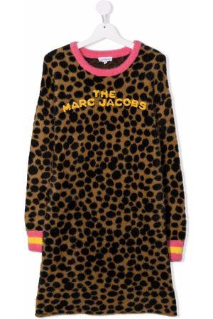 The Marc Jacobs Girls Casual Dresses - TEEN polka-dot knit jumper dress