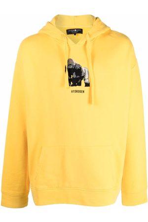 Hydrogen Men Hoodies - Animal Special logo hoodie