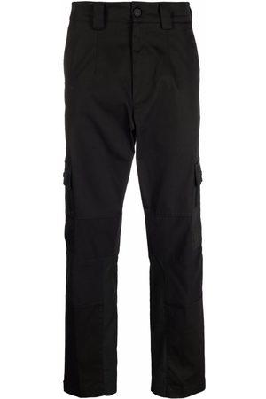Moncler Men Straight Leg Pants - Multi-pocket straight-leg trousers