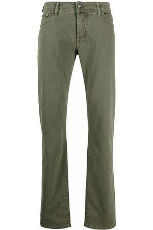 Jacob Cohen Men Chinos - Straight-leg washed chinos