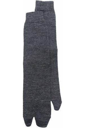 Maison Margiela Men Socks - Tabi-toe socks - Grey