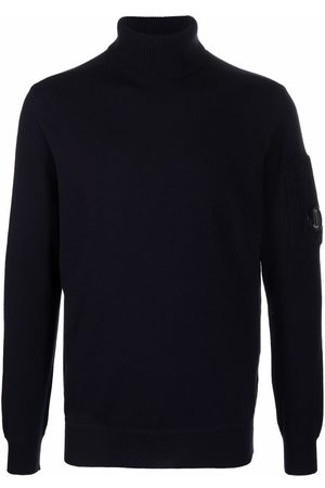 C.P. Company Men Turtlenecks - Roll-neck ribbed-knit jumper