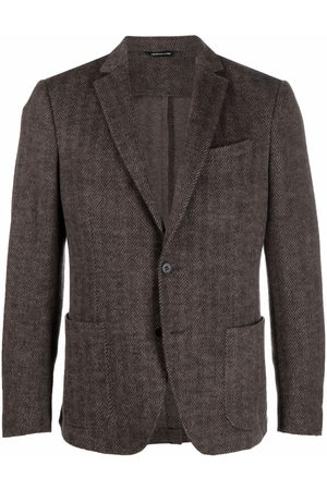 Tonello Men Blazers - Single-breasted wool blazer