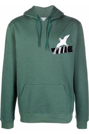 Axel Arigato Men Hoodies - Chest logo-print hoodie