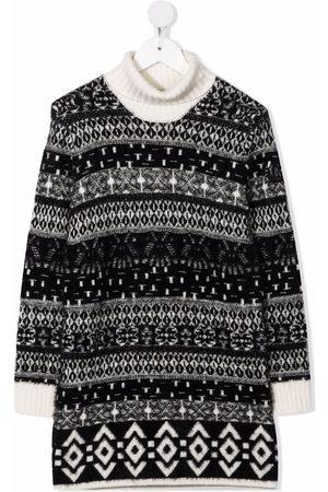 Moncler Roll-neck striped-knit jumper