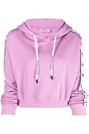 Chiara Ferragni Women Hoodies - Side logo-print hoodie
