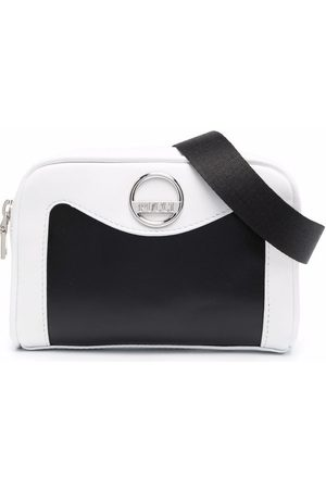 Emilio Pucci Girls Bags - Two-tone leather shoulder bag
