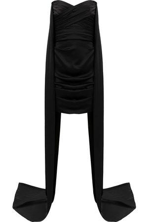 ALEX PERRY Women Strapless Dresses - Draped-detail strapless dress