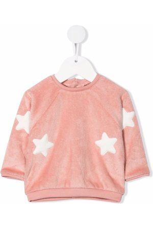 LA STUPENDERIA Star-embroidered sweatshirt