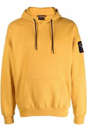 Paul & Shark Men Hoodies - Logo-patch cotton hoodie