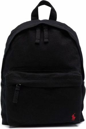 Ralph Lauren Rucksacks - Embroidered-logo zip-fastening backpack