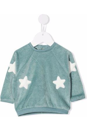 LA STUPENDERIA Hoodies - Star-embroidered sweatshirt